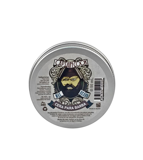 Captain Cook Cera para Barba 50 ml.