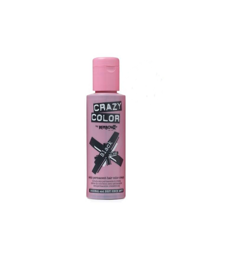 Crazy Color Black 030 100 ml.