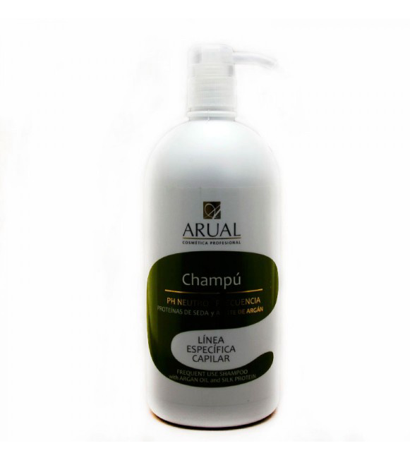 Arual Champú Ph Neutro Argan 1.000 ml.
