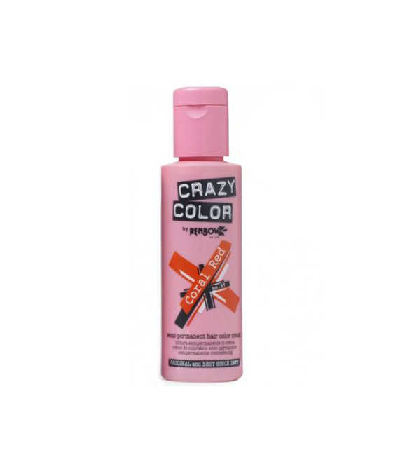 Crazy Color Coral Red 057 100 ml.