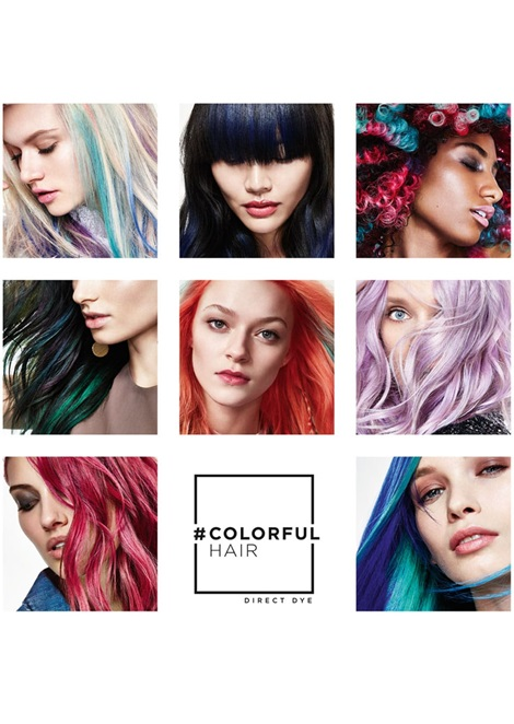 L`oreal Colorful Hair