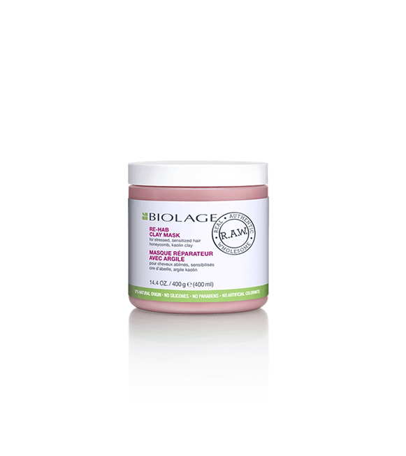 Matrix Biolage R.A.W Mascarilla de Arcilla Re-Hab 400 ml.